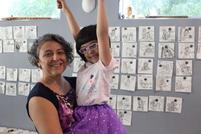 Jo Ann Briseño with her daughter, Maya