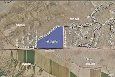 Map of auctioned State LTrust Land parcel