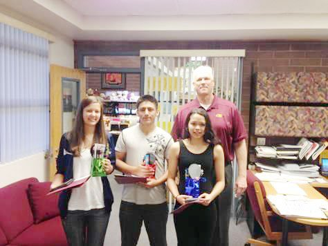 Mountain Pointe students of the month for January