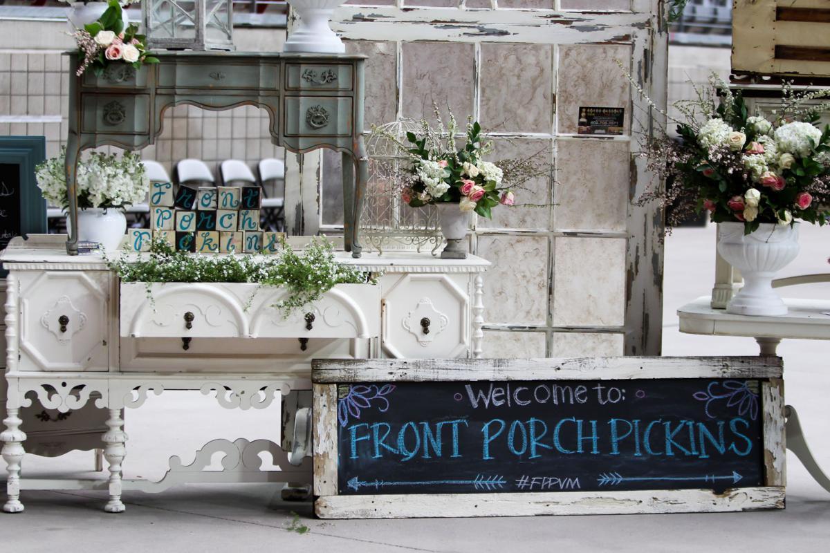 Front Porch Pickins Vintage & Handmade Market is a flea market lover's paradise.