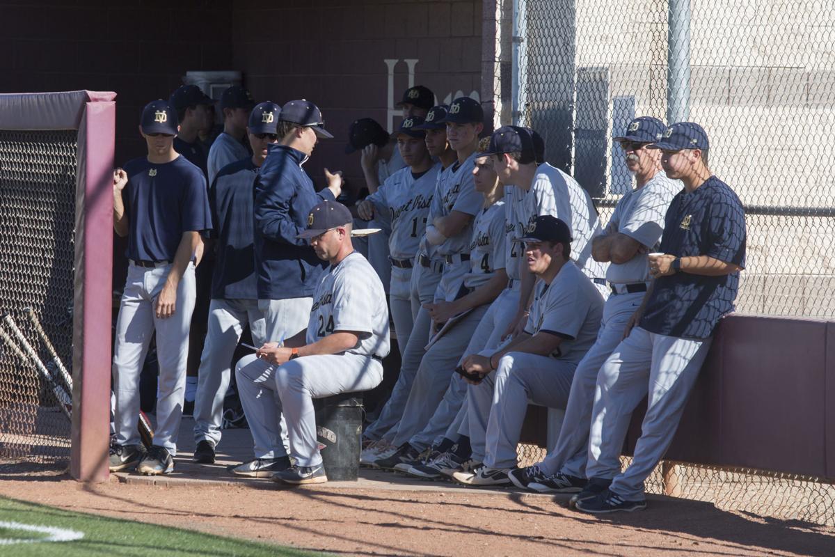 Members of Desert Vista's baseball team