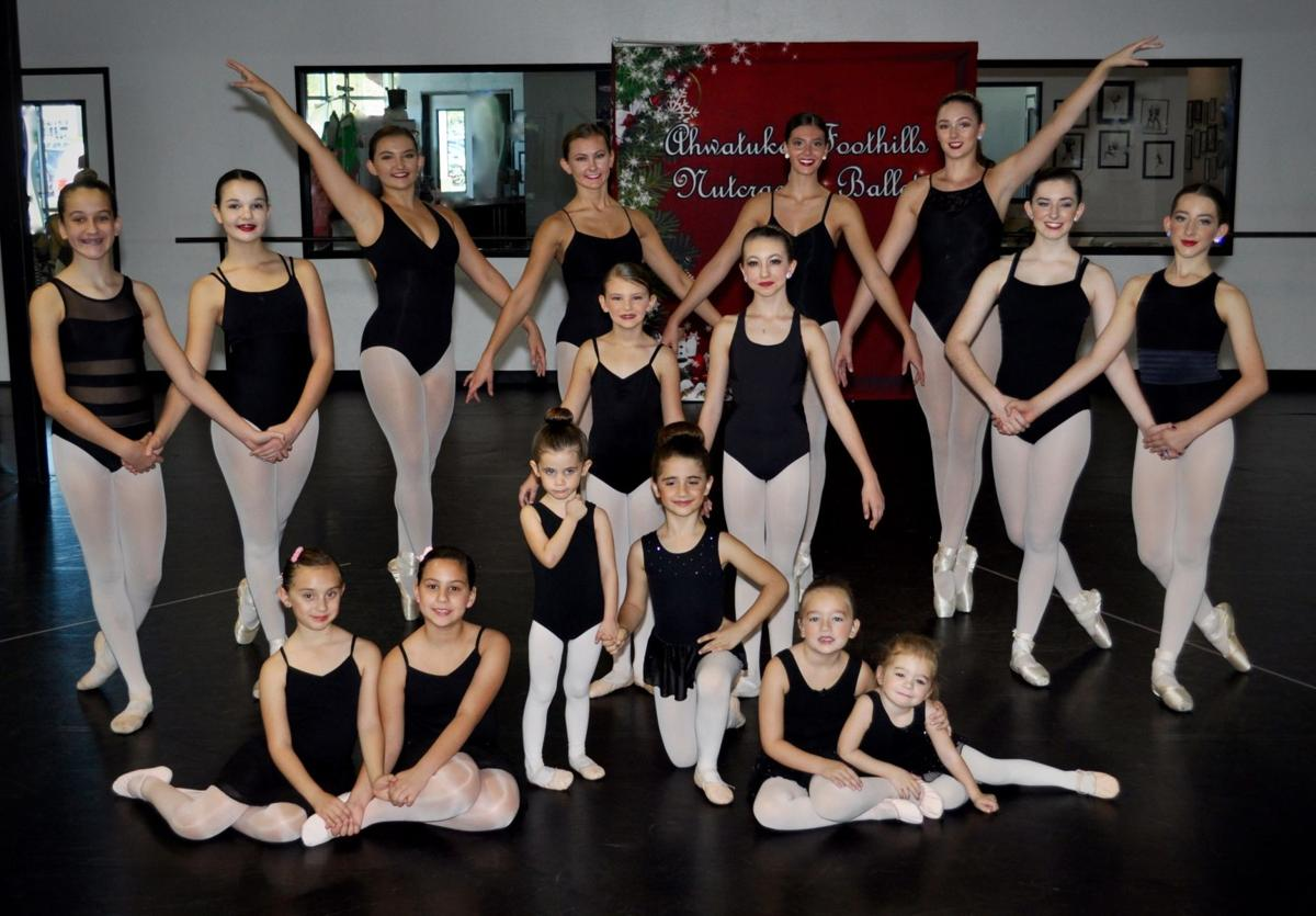 Eight pairs of sisters will be performing in the Kimberly Lewis School of Dance annual presentation of Nutcracker.