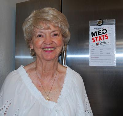 Jeanne McLain of Ahwatukee said MedStats probably saved her life during an emergency at her home.