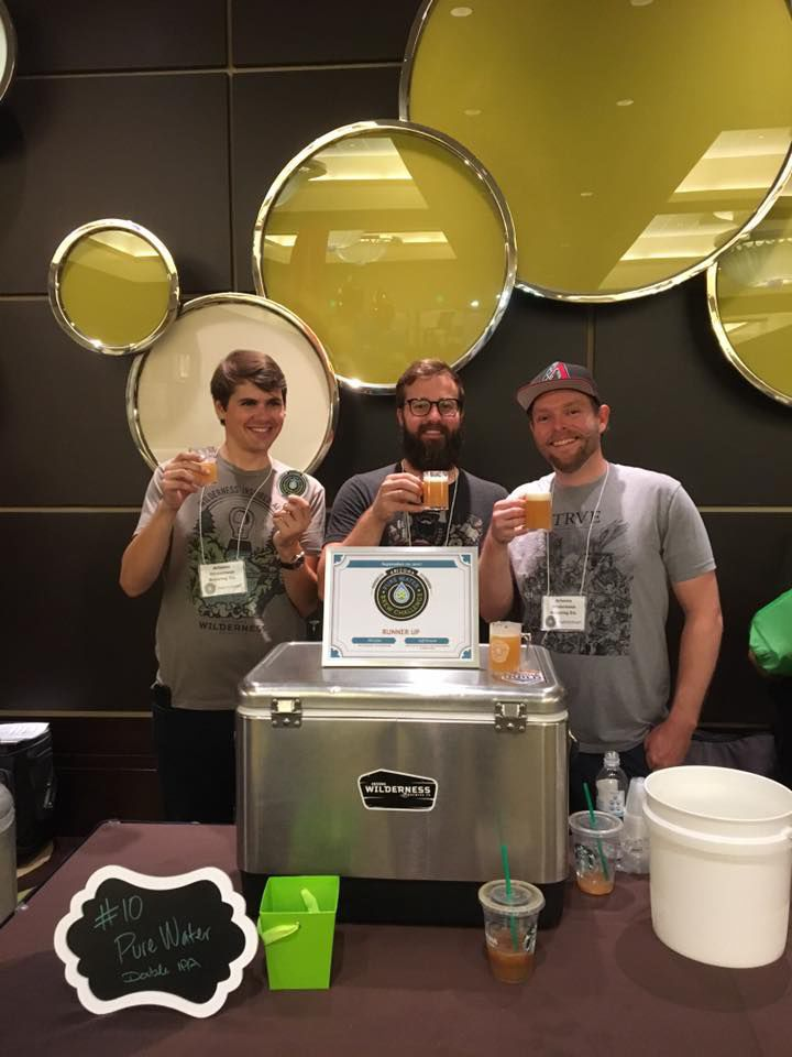 Arizona Wilderness Brewing Company of Gilbert took second place at the Arizona Pure Water Brew Challenge recently with its Pure Water Double IPA. The beer was brewed using purified recycled wastewater.