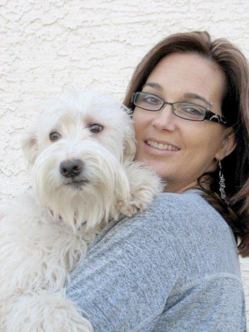 Christine Fischer and Riley