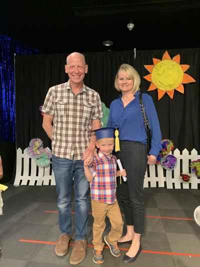 Steve and Nancy Zimbelmann celebrated their 5-year-old son Jacob's completion of preschool in May.