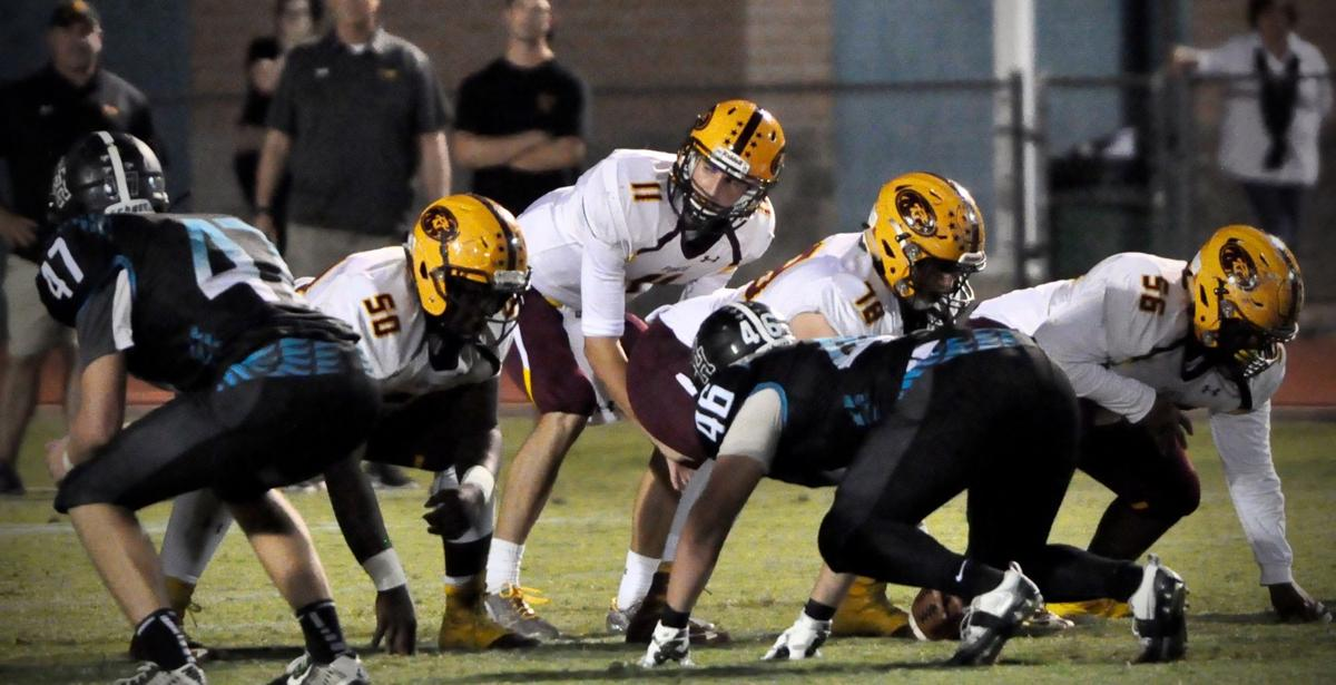 Mountain Pointe vs Highland football