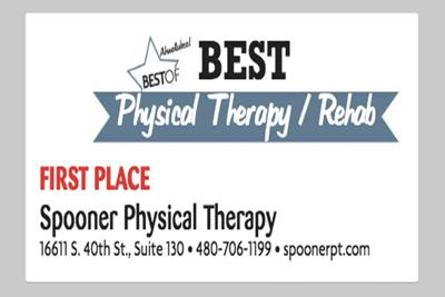 Spooner Physical Therapy  16611 S. 40th St., Suite 130