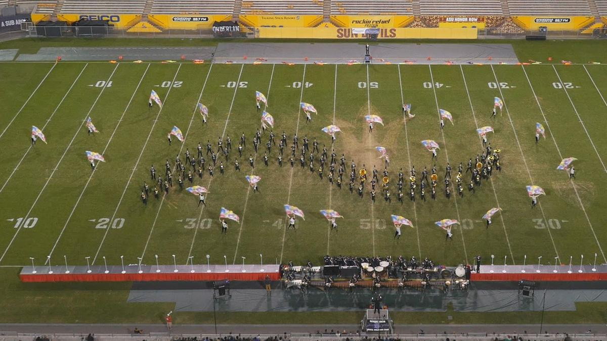 Thunder Marching Band wins state crown