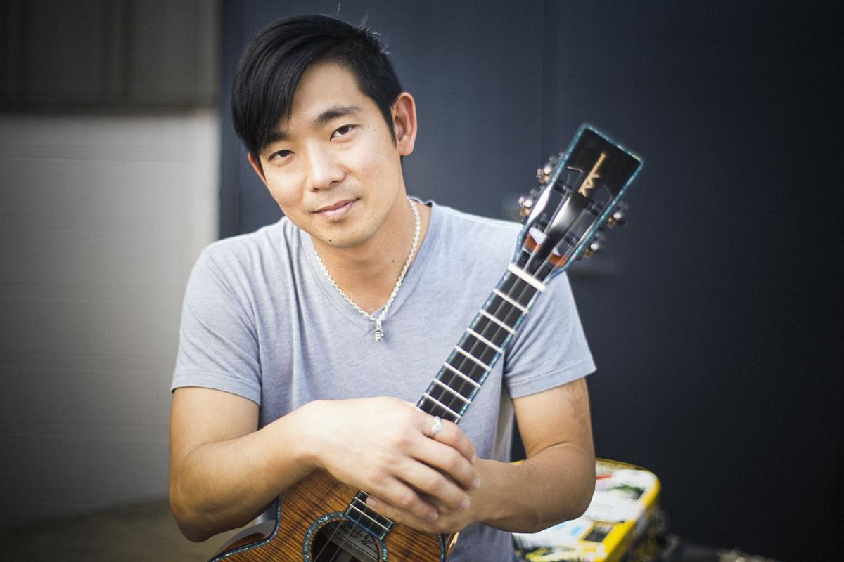 "Jake Shimabukuro became famous internationally in 2006, when a video of him playing a virtuosic rendition of ""While My Guitar Gently Weeps"" was posted on YouTube and became a viral hit."