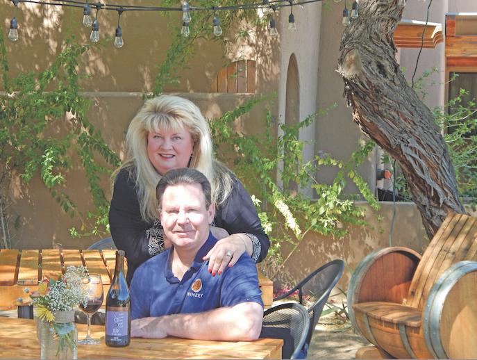 Curt Dunham and Peggy Fiancada