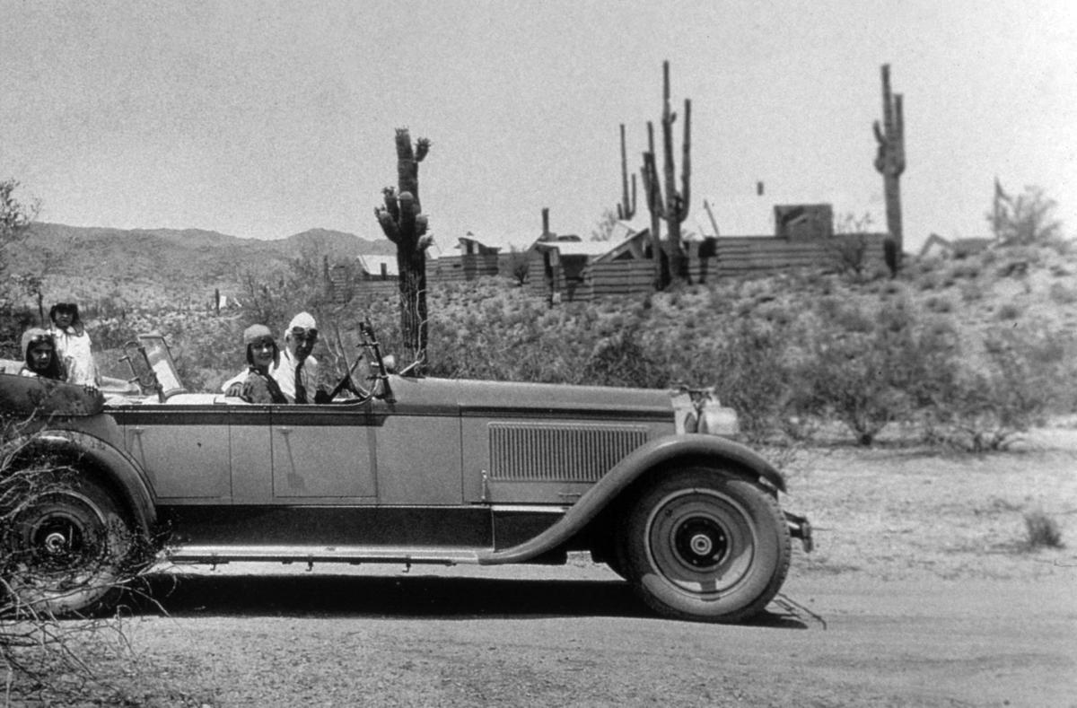 Wright loved the desert landscape