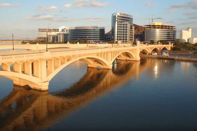 The two-mile Tempe Town Lak