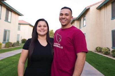 Melanie Stephenson of Gilbert and her fiance Sal Sanchez