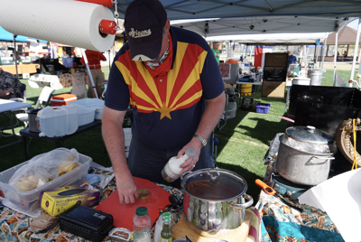 Chili chefs will be starting to cook early Saturday and Sunday for the Chili Cook Off Festival.