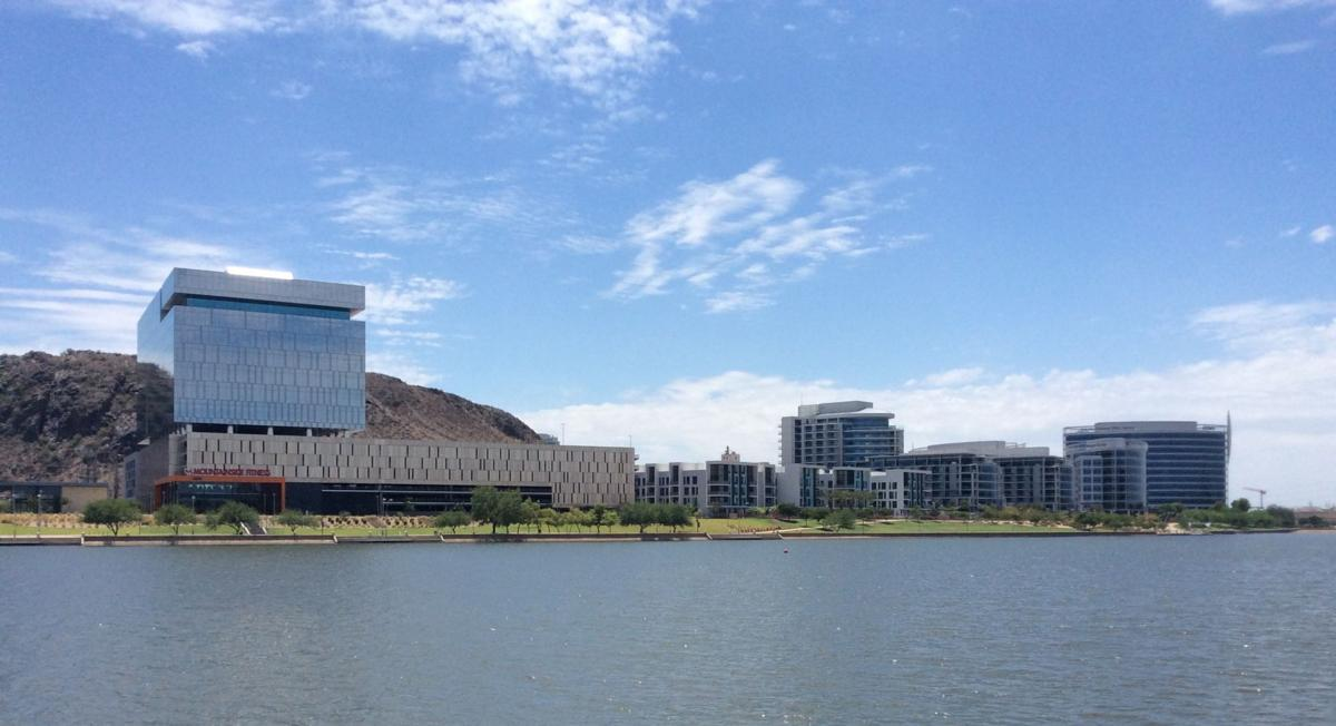 The opening of Tempe Town Lake in 1999 spurred shoreside commercial and residential development that greatly accelerated urbanization of the old college town.