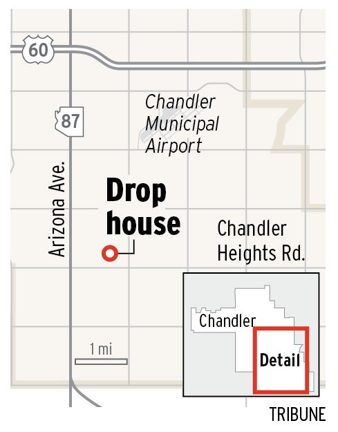 Drop house in Chandler