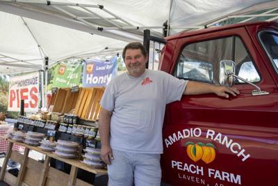 Eric Amadio Peaches Laveen farm