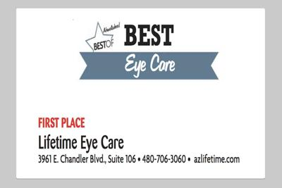 Lifetime Eye Care 3961 E. Chandler Blvd., Suite 106