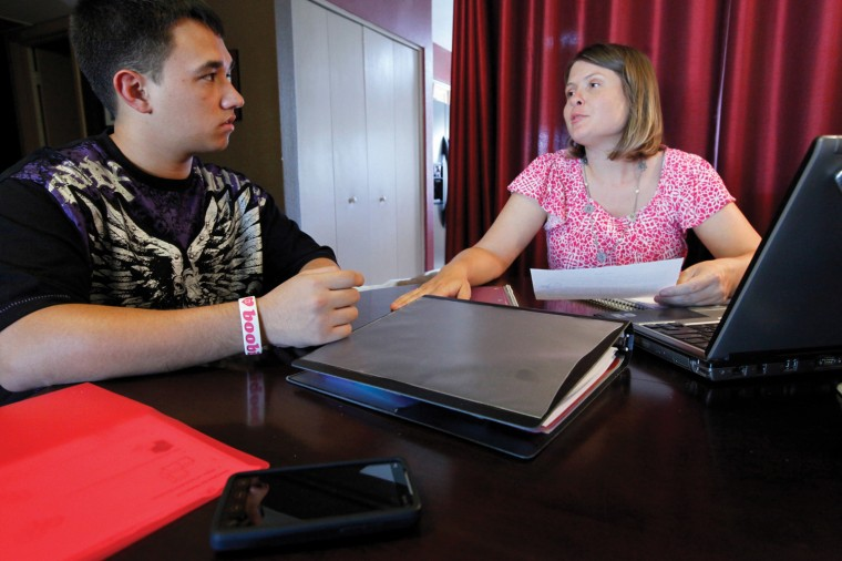 Shauna Cahill provides study skills
