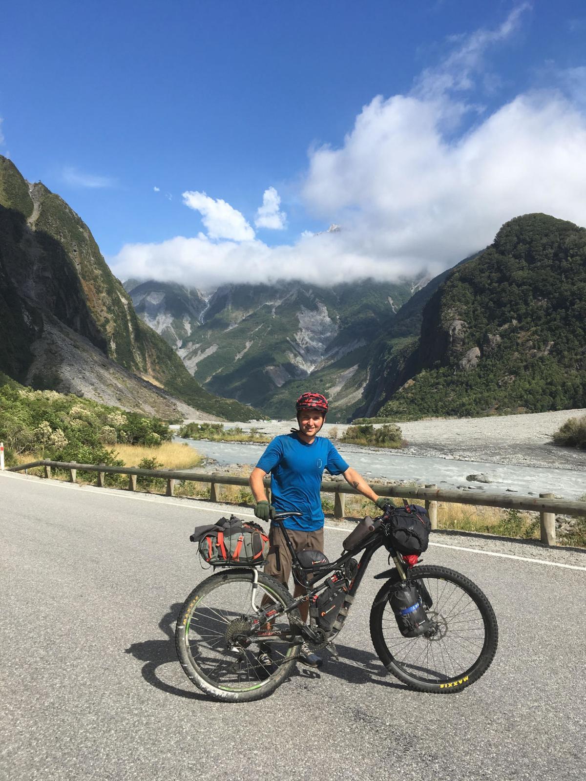 three ahwatukee natives bike packing through new zealand