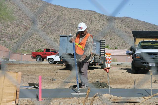 Crews expanding popular trail head