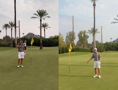 Desert Vista golfers