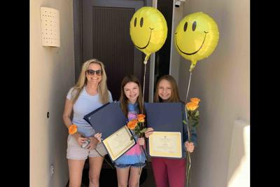 Ahwatukee mom Sarah Woods and daughters Ariada and Elia