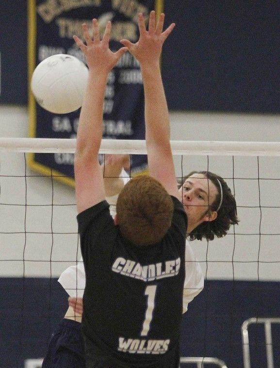 Desert Vista volleyball