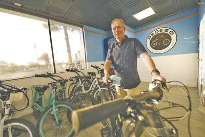 Michael Curtin has opened a Pedego Electric Bike