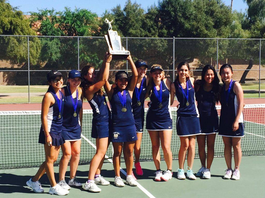 Girls Tennis Thunder Sweep Through Tempe All City