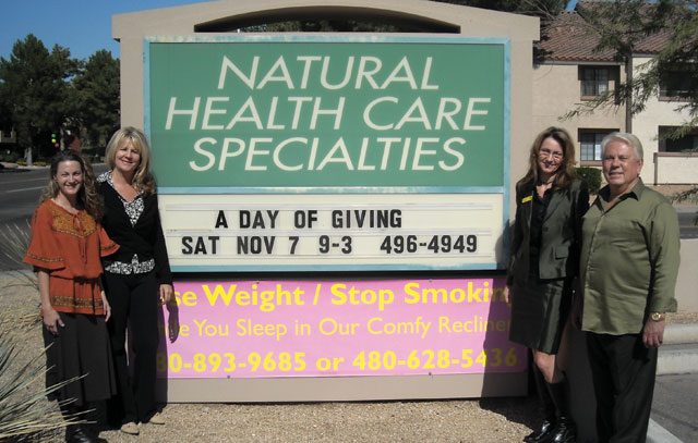 The Ahwatukee Health Team gives back