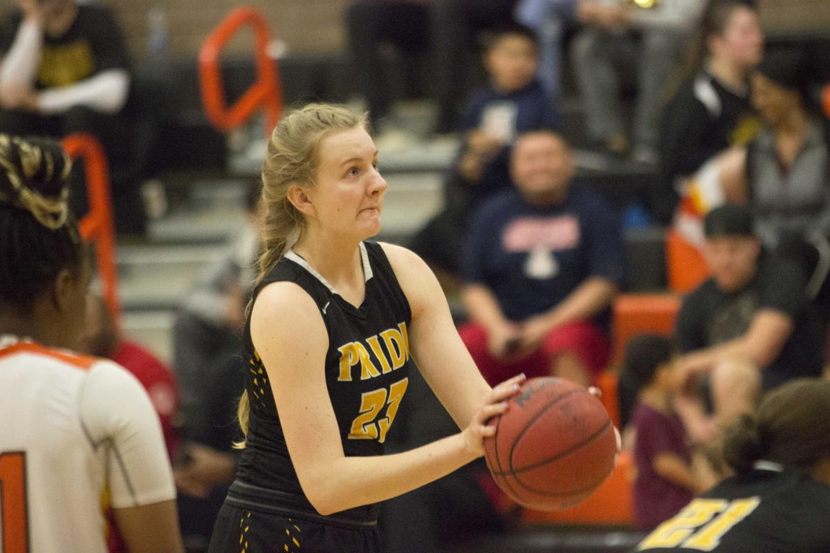 Mountain Pointe senior Eve Kulovitz have stepped into a leading role on the girls basketball team.