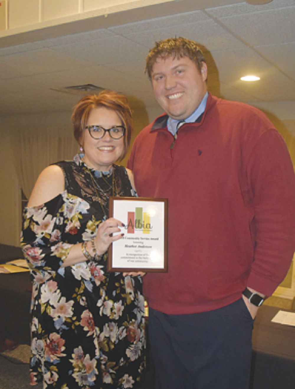 Chamber celebrates Albia achievements