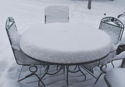 Albia slammed with big snow