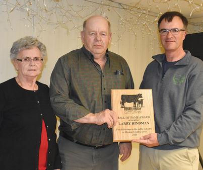Monroe County Cattlemen Hall of Fame award winners Hindmans
