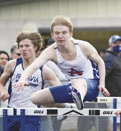 Track teams debut on sunny Friday