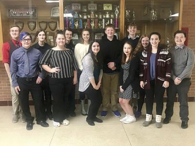 Speech students qualify for state