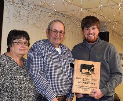 Monroe County Cattlemen Hall of Fame Winners Clark