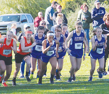Albia High School Girls Cross Country