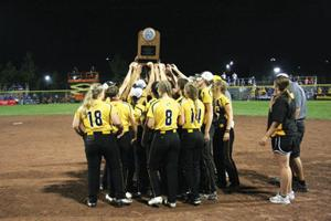 EBF Rockets State Tournament Softball Team