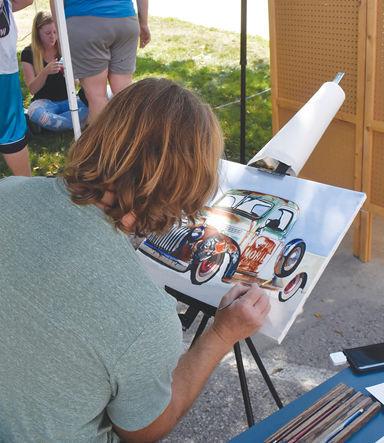 Nash Cox painting