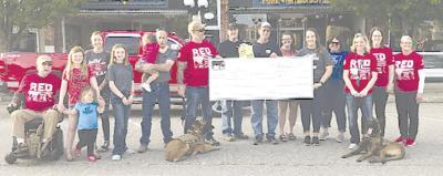 Cattlemen raise $1,600 for CJ3 Foundation