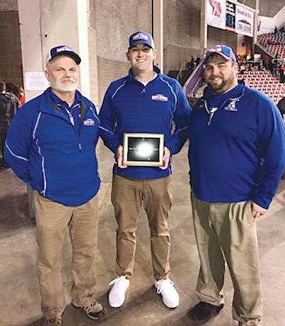 Haluska is Jr. High Coach of the Year