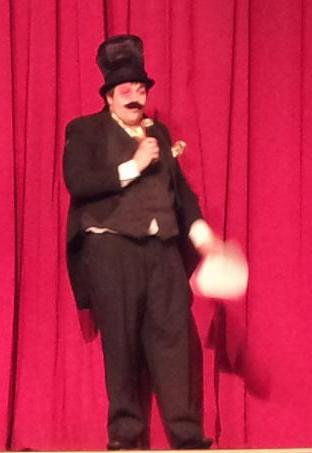 Caleb Haselhuhn, director and Ringmaster of the circus-themed Children's Follies