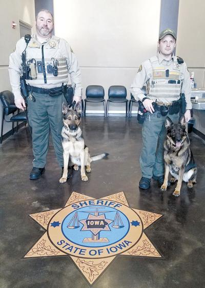 Two K-9 officers join Sheriff's office