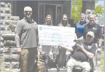 CVEC and partners deliver $25,000  for CJ3 Kendall Place renovation