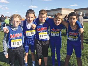 7th Grade Cross Country Boys Team