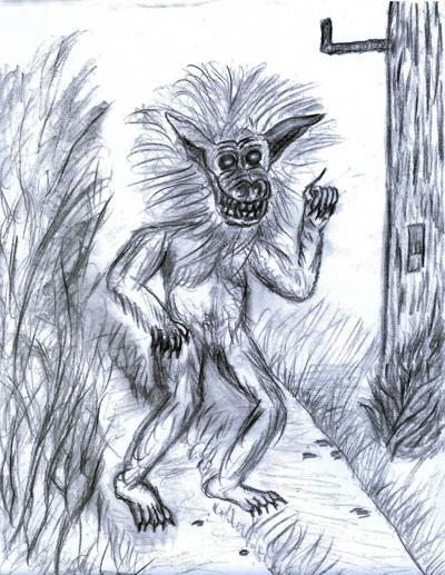 Dog-Man sketch