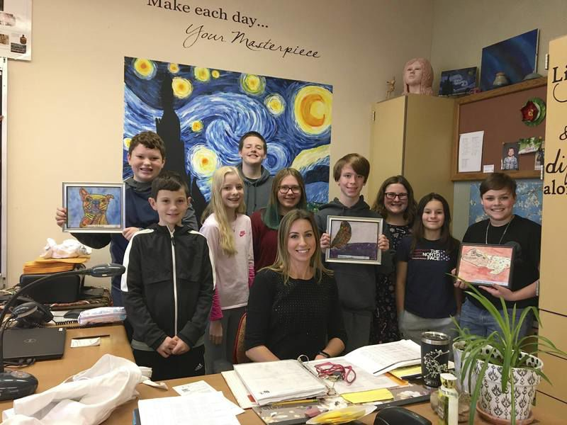GCMS lesson teaches students the art of giving